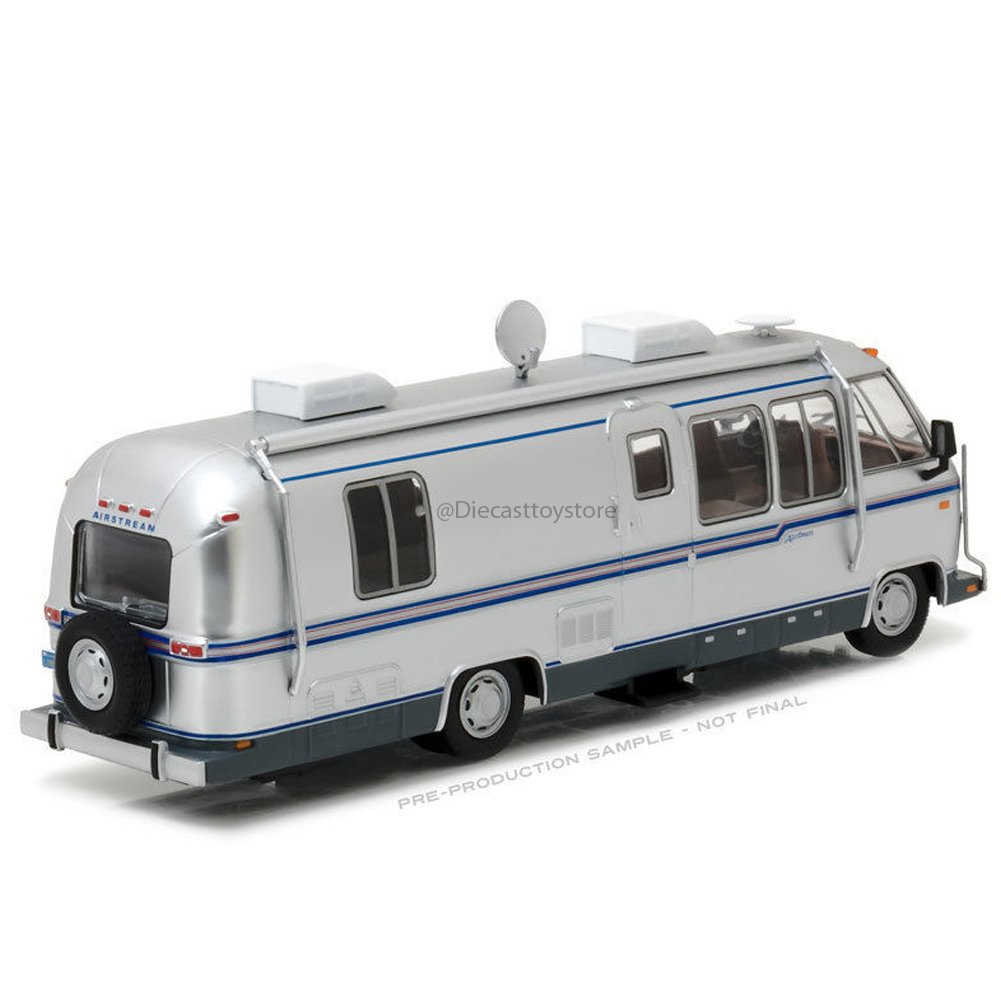1:43 LIMITED EDITION 1981 AIRSTREAM EXCELLA TURBO 280 DIECAST SILVER 86312 BY GREENLIGHT