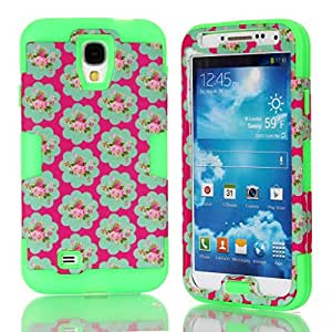 S4 Case,Samsung Galaxy S4 Case, Leopardcases S4 Hybrid Case Cover for Galaxy S4 IV i9500