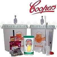 Kit fermentación Coopers para cerveza artesanal con 2recipientes