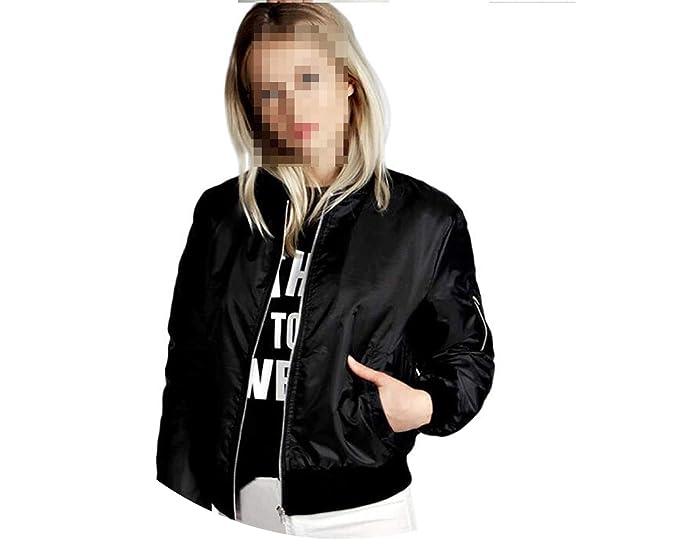 Amazon.com: Chaqueta de muelles para mujer, chaqueta de ...