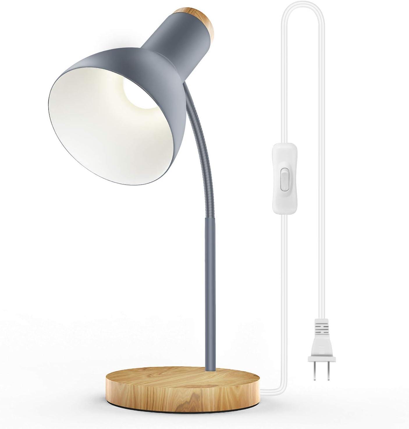 noir Touchez Dimmable Flexible USB LED Eye Care Liseuse r/églable LED solide lampe de bureau pour l/éclairage d/étude chambre /à coucher pour ordinateur portable