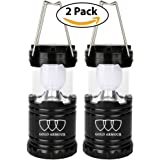 Camping Lantern - LED Lantern Lights (5 COLORS: GRAY, BLUE, RED, PURPLE, PINK) Camping Gear Equipment for Outdoor, Hiking, Emergencies, Hurricanes, Outages