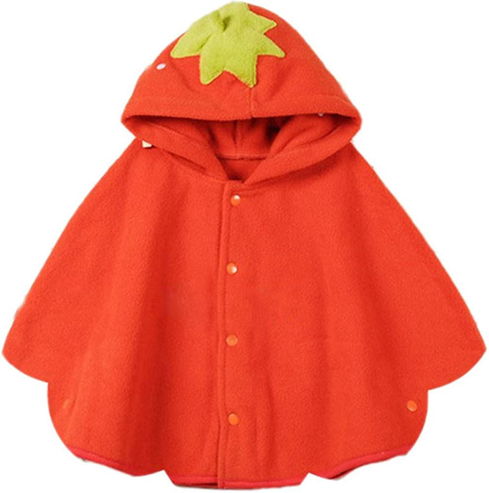 Qingsun Baby Animal Fashion Cute Cloak Baby Overcoat Outwear