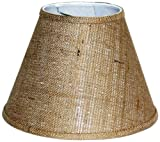 Cheap A Ray Of Light 6129BUR 6-Inch by 12-Inch by 9-Inch Brown Burlap Empire Hardback Shade