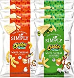 cheese cheetos - Cheetos Cheese Snacks, Simply White Cheddar & Jalapeño Puffs Limited edition 8 oz (White Cheddar & Jalapeño, 6)