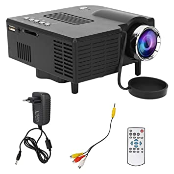 Caredy Mini proyector, proyector de Video LED, proyector de ...