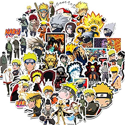 50PCS Anime Sticker Cartoon Graffiti Stickers para DIY Sticker en Estuche de Viaje Laptop Skateboard Guitarra Nevera teléfono: Amazon.es: Coche y moto