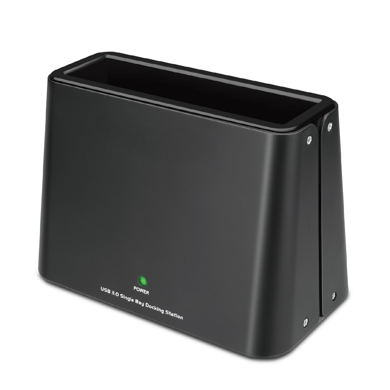 TNP USB 3.0 to SATA Single-Bay HDD Docking Station - External Hard Disk Drive Dock with Offline Clone Function for 2.5 / 3.5 Inch HDD / SSD, SATA I / II / III, Support 8TB Drives and UASP