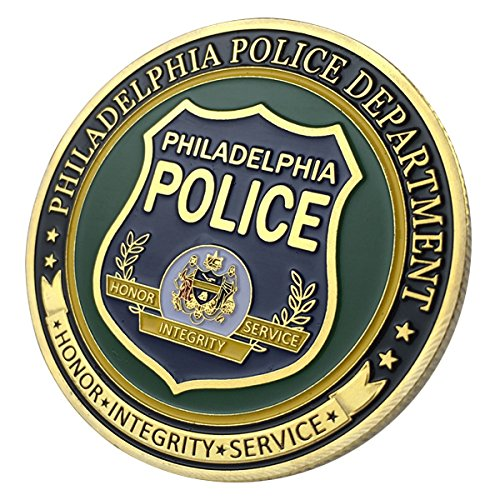Philadelphia Police Department / PPD G-P Challenge coin 1145#