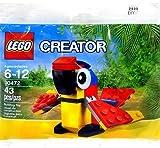 LEGO Creator Polybag Mini Build Animal Exclusive Promotional Set - Parrot (30472)