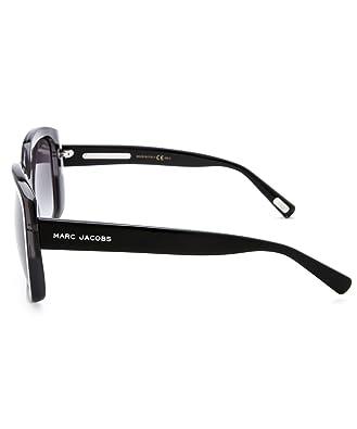 Amazon.com: Marc Jacobs anteojos de sol MJ 349/S 349s Negro ...