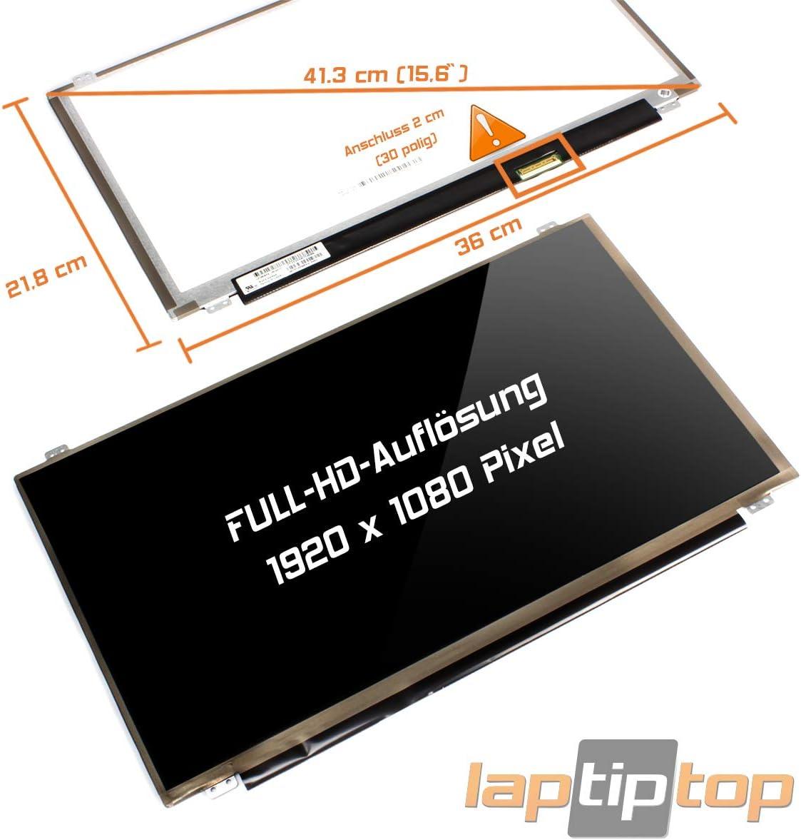 Laptiptop 15,6 LED Display Screen Glossy Ersatz f/ür Lenovo ThinkPad Edge E540 20C6003AGE FHD Bildschirm Panel
