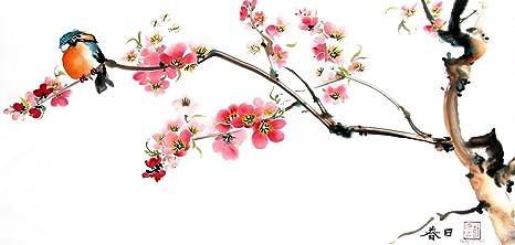 giclee fine art print of watercolor cherry blossom no 12