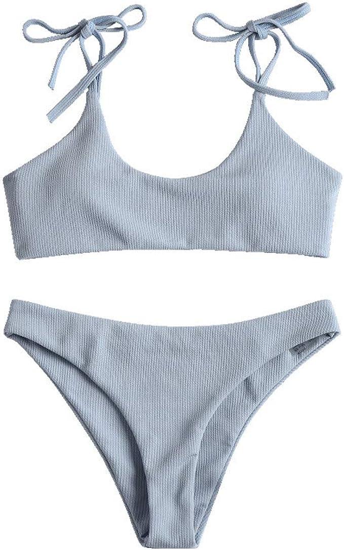 RYTEJFES maillots de Bain Femme Bikini Beachwear Femmes Maillots de Bain 2 pi/èces Push up Bikini Maillot de Bain