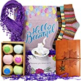 VINAKAS Birthday Gift Baskets for Women - Includes