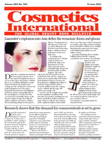 Cosmetics International