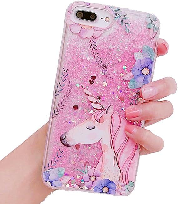 Unicorn Glitter Powder Phone Case