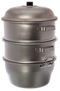 Thunder Group ALST006 Steamer Set, 13 by 19-1/2 by 3/8-Inch