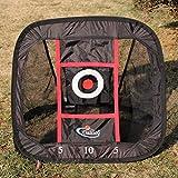 Golf net 24' x 28' Pop Up Golf Chipping Net   Outdoor & Indoor Golfing Target Accessories and Backyard Practice Swing Game
