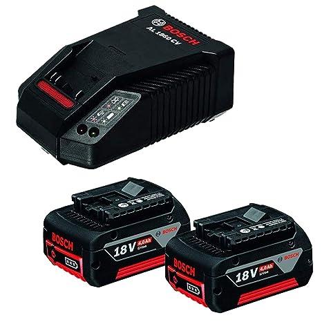 Bosch 1600A002F8 - Conjunto batería Power Set 18 V 4,0 Ah ...