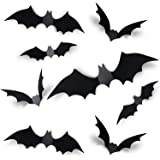 Decoración de Halloween Kit Murciélagos, Adornos de Fiesta Feliz Halloween Decorar