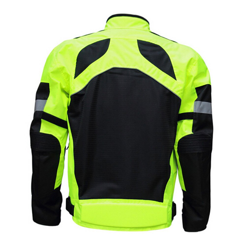 LKN Breathable Summer Motorcycle Racing Jacket with Protective Armous