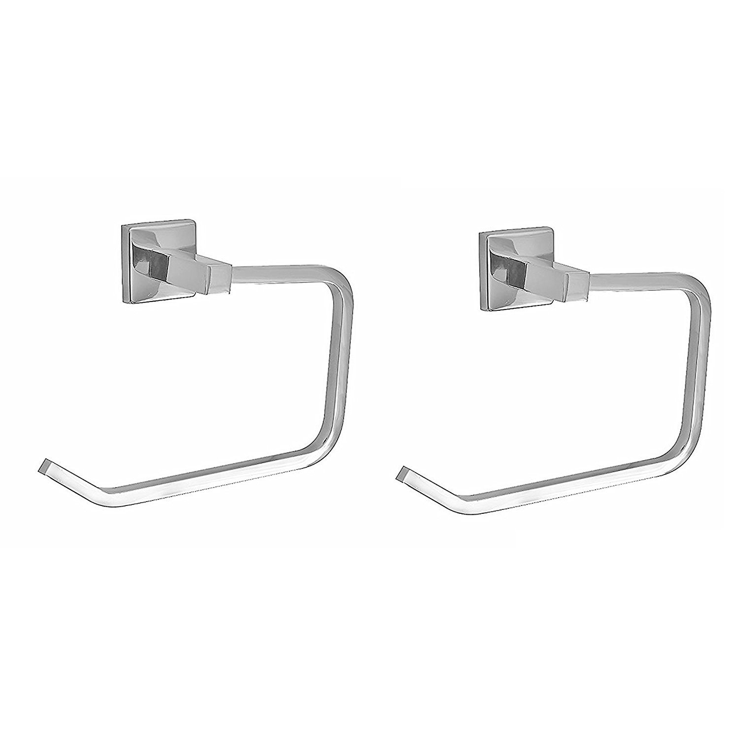 Klaxon 102 Kristal Steel Towel Ring/Holder (2 Pieces) (B015GXTILC) Amazon Price History, Amazon Price Tracker