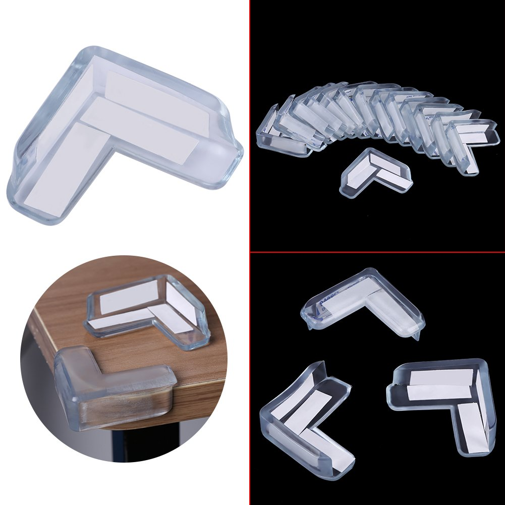 15Pcs Soft Edge /& Corner Guard Set Transparent Protector Pad Child Safety Table Furniture Corner Protectors Protect Children from Injury