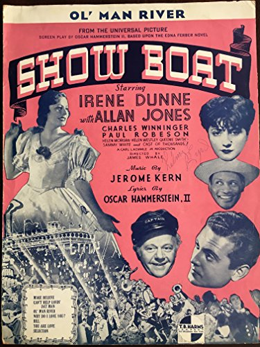 Ol' Man River, From the Universal Picture Show Boat starring Irene Dunne with Allan Jones, Charles Winninger, Paul Robeson