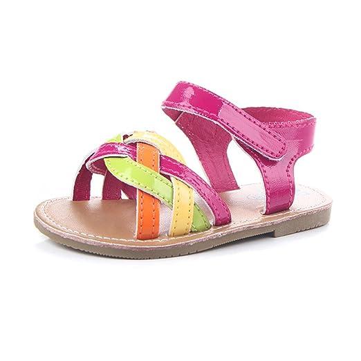 8f604c7cafd Amazon.com  KONFA Toddler Newborn Baby Girls Open Toe Sandals