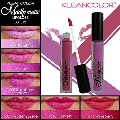 6pcs Kleancolor Madly Matte Lipgloss Lip Gloss Set Rich Long Lasting - Lip Gloss Assortment