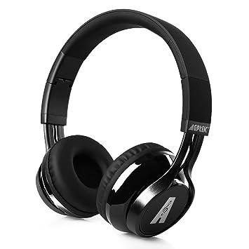 Auriculares Bluetooth, AGPtek Casco Inalámbrico de Diadema Manos ...