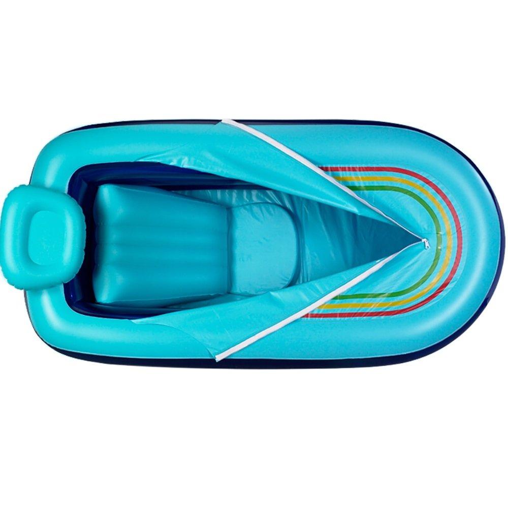 PM YuGang Inflatable Bathtub Adult Folding Tub Bath Children Bathe Barrel (168cm 78cm 48cm)