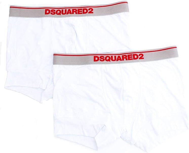 DSquared DCXF50050 - Camiseta interior para hombre Blanco M: Amazon.es: Ropa y accesorios