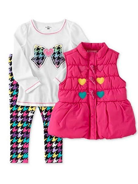 Amazon.com: Niños Sede bebé Girls 3 piezas Colorful Leggings ...