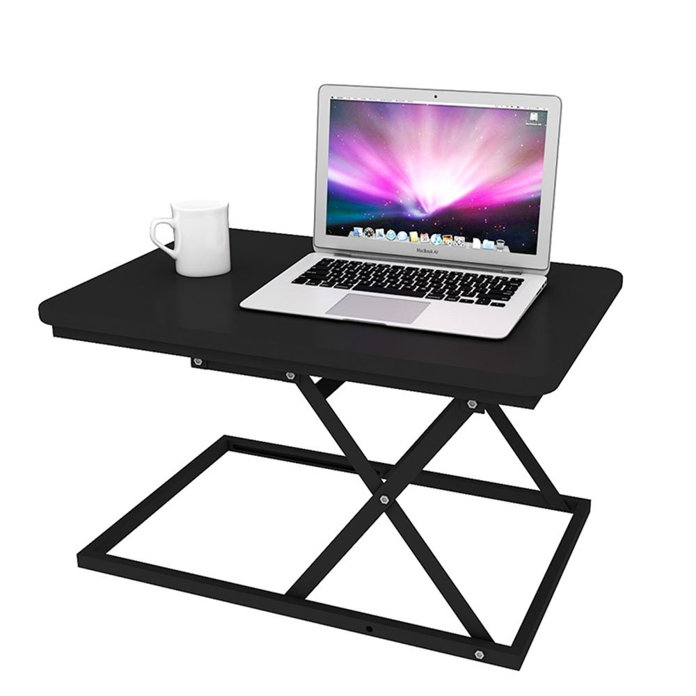 AJZGF Workspace Organizer Lift Table, Stand-up Office Computer Desk, Collapsible Desk,