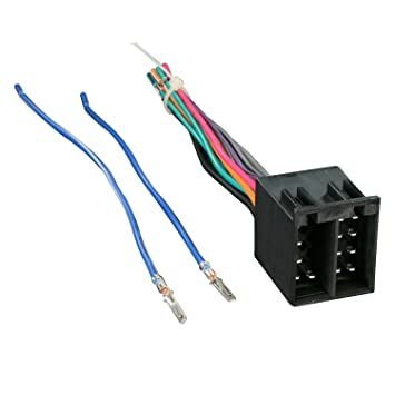 61TNb2xMSCL._SY355_ amazon com metra 70 1784 radio wiring harness for audi 88 99 Ford Radio Wiring Diagram at bayanpartner.co