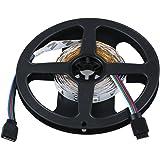 SODIAL (R)3M 5050 SMD 90 LED RGB Club de voiture Camion bande de lumiere + 24 Touches telecommande + Controleur