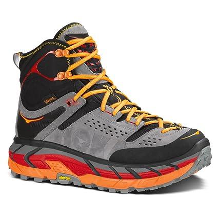 Best Online Hoka One One Tor Ultra Hi WP - Black/Flame Hiking Shoes