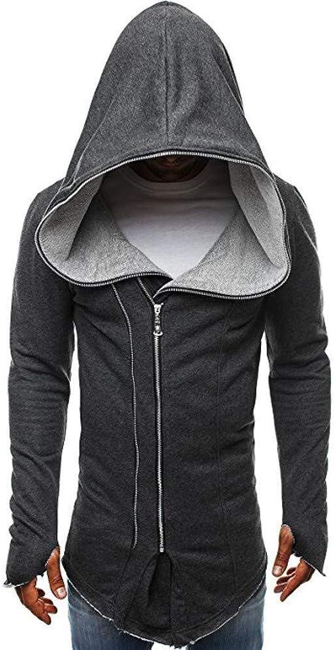 Felpa Con Cappuccio Da Assassin Creed Uomo S Cape Mode di marca Jacket Felpa Manica Lunga Cuciture Per Il Tempo Libero Felpa Con Cappuccio Top Camicia a Maniche Lunghe Casual Manica Corta Da Lavoro