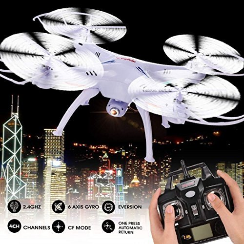 Syma-Upgraded-Version-X5SC-1-Explorers-RC-Quadcopter-4CH-6-Axis-24G-Gyro-Drone-With-2MP-HD-Camera-White