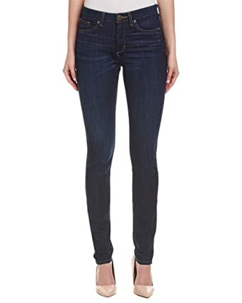 Spanx Womens Denim Stretch Skinny Jeans Navy 25