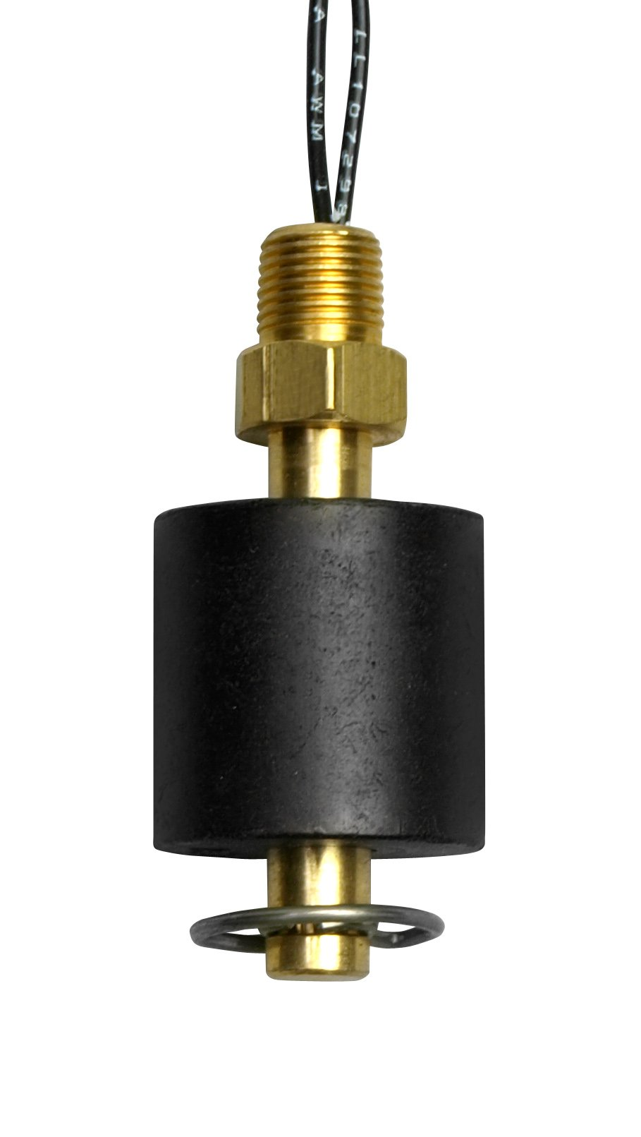 Madison M4500 Brass Miniature Liquid Level Switch, 30 VA SPST, 1/8'' NPT Male, 150 psig Pressure