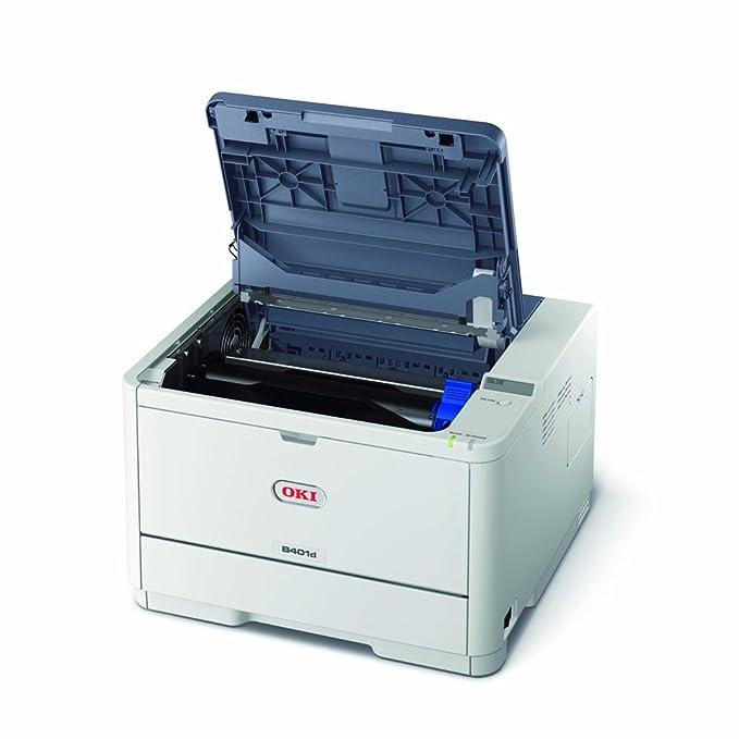 OKI B401D - Impresora láser Blanco y Negro (A4, 29 ...