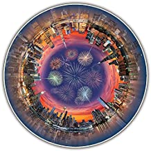 A Broader View's Round Table Puzzle - City Central (500-piece)