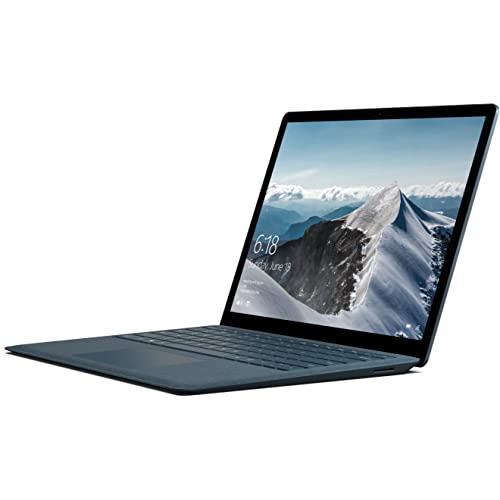 """Microsoft Surface Laptop Ordinateur Portable 13.5"""" tactile (Core i5, RAM 8 Go, SSD 256 Go, Windows 10S) -Bleu Cobalt"""