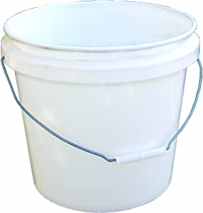 Encore 30448 Industrial Bucket, 3.5 Gallon, White