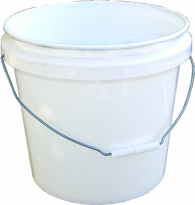 Encore 30448 Industrial Bucket, 3.5 Gallon, White