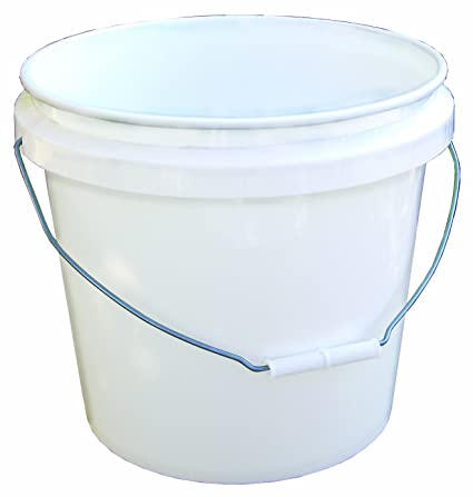 Encore 30448 Industrial Bucket, 3 5-Gallon, White