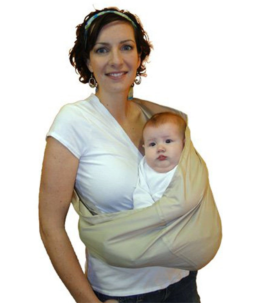 Stone HugaMonkey Cotton Baby Sling Wrap Carrier for Newborn Babies Infants and Toddlers Upto 3 Years Extra Large